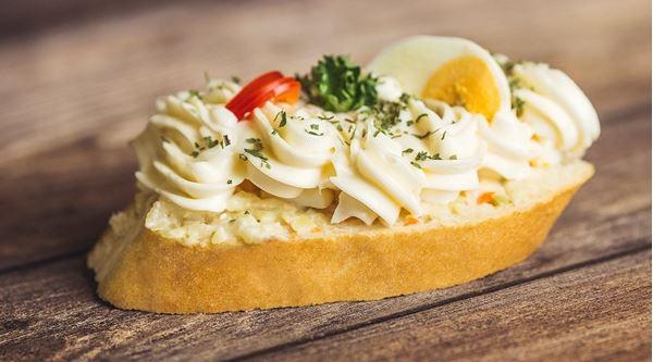 Vajičkový chlebíček