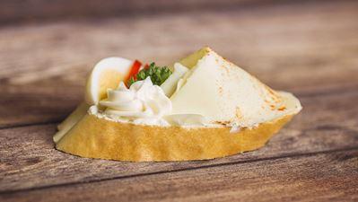 Chlebíček se sýrem