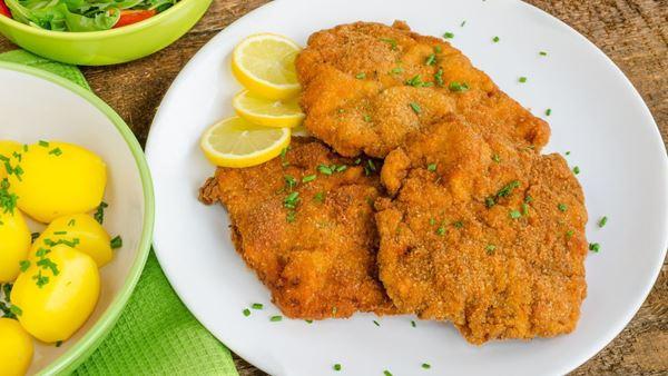 Obrázek z MINI smažený kuřecí řízek kg